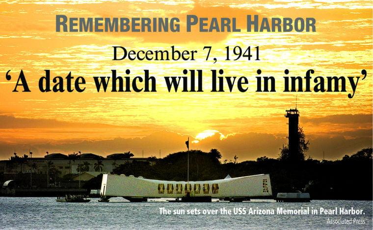 Yuba Sutter Remembers Pearl Harbor News Appeal