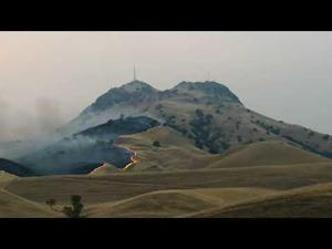 Fire In The Sutter Buttes