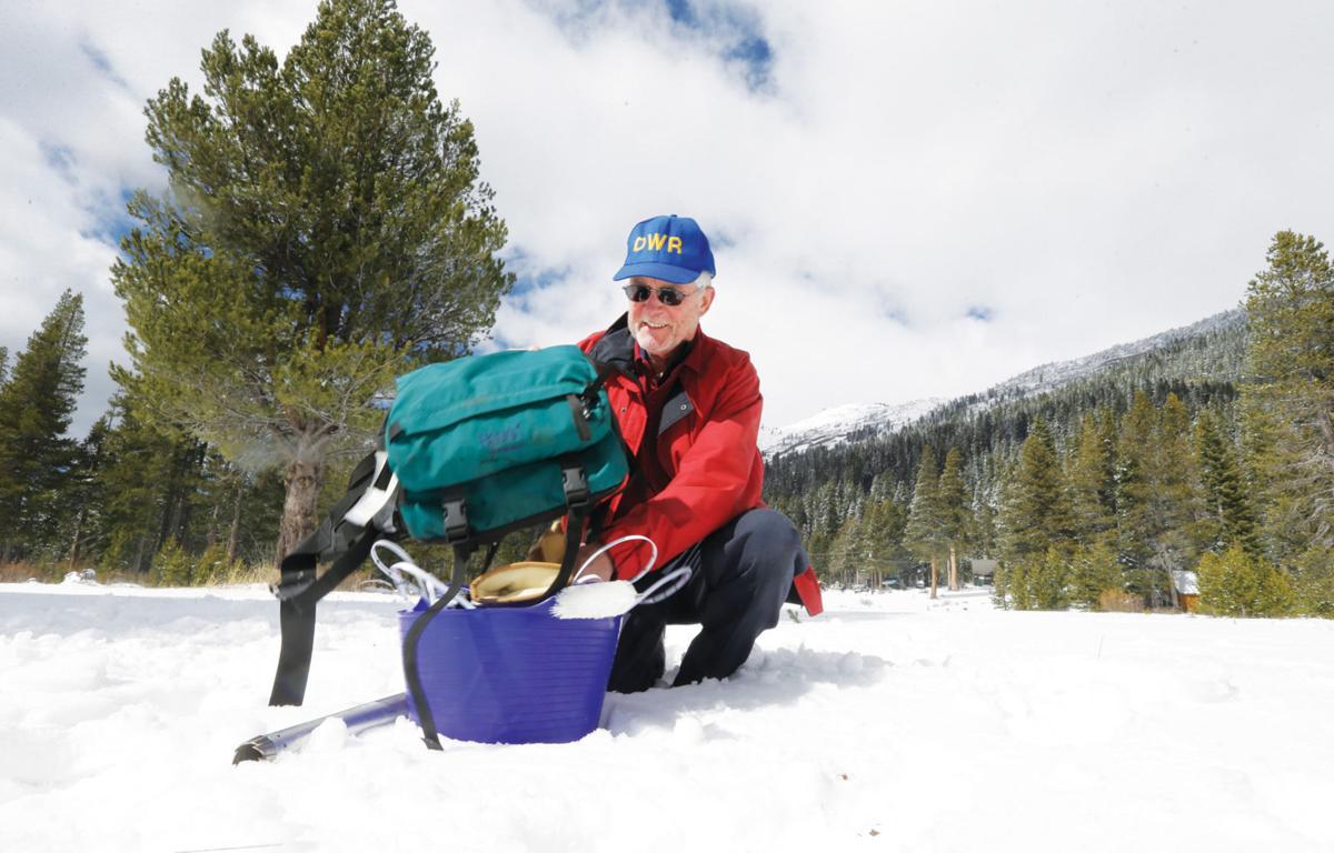 California Drought Snow Survey