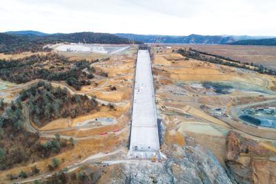 Oroville Dam main spillway