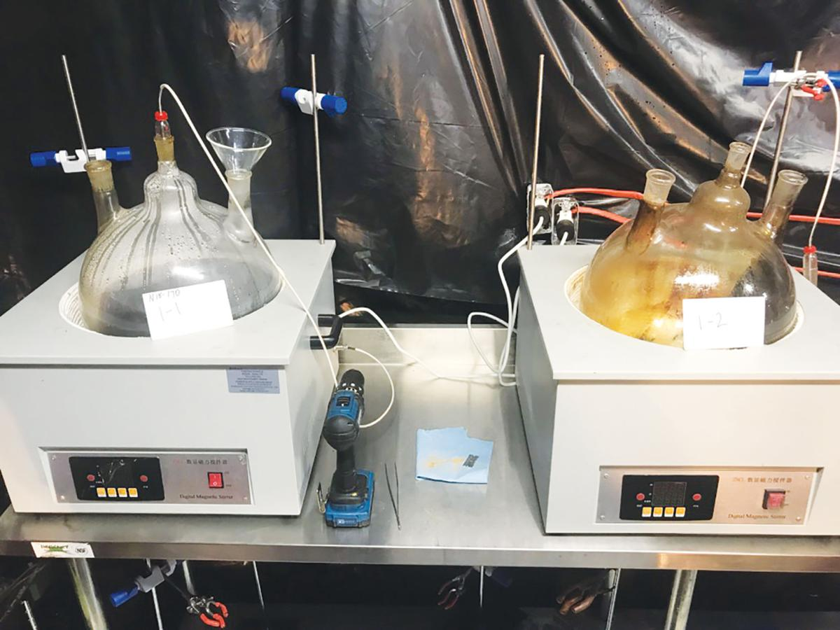 Public Safety: Task force busts its biggest THC lab yet