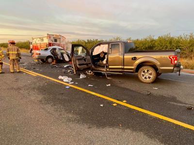 Double fatal crash on Highway 99