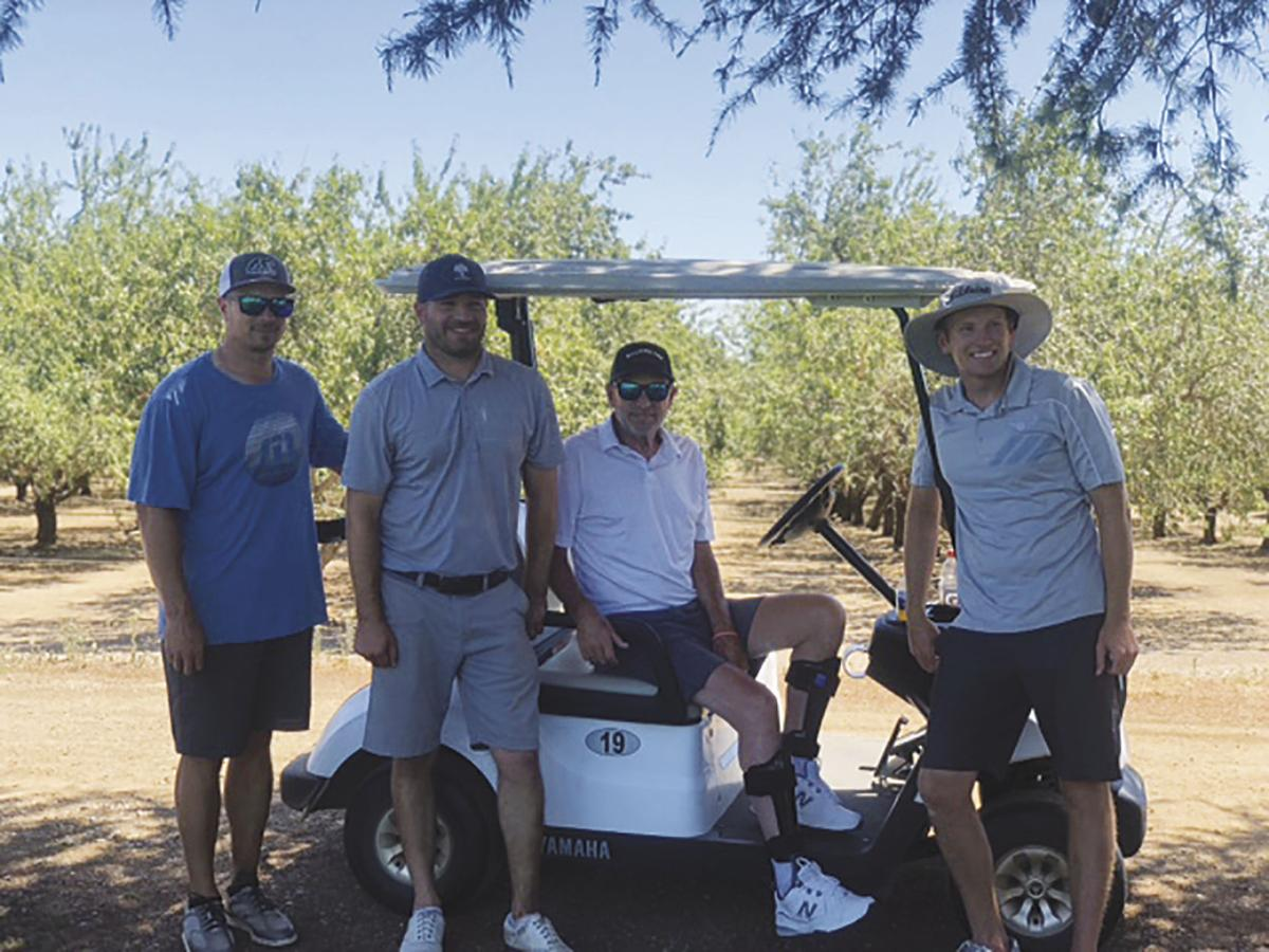 Golfers raise $12,000 in marathon fundraiser