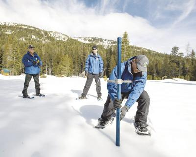 Dry January leads to below average snowpack