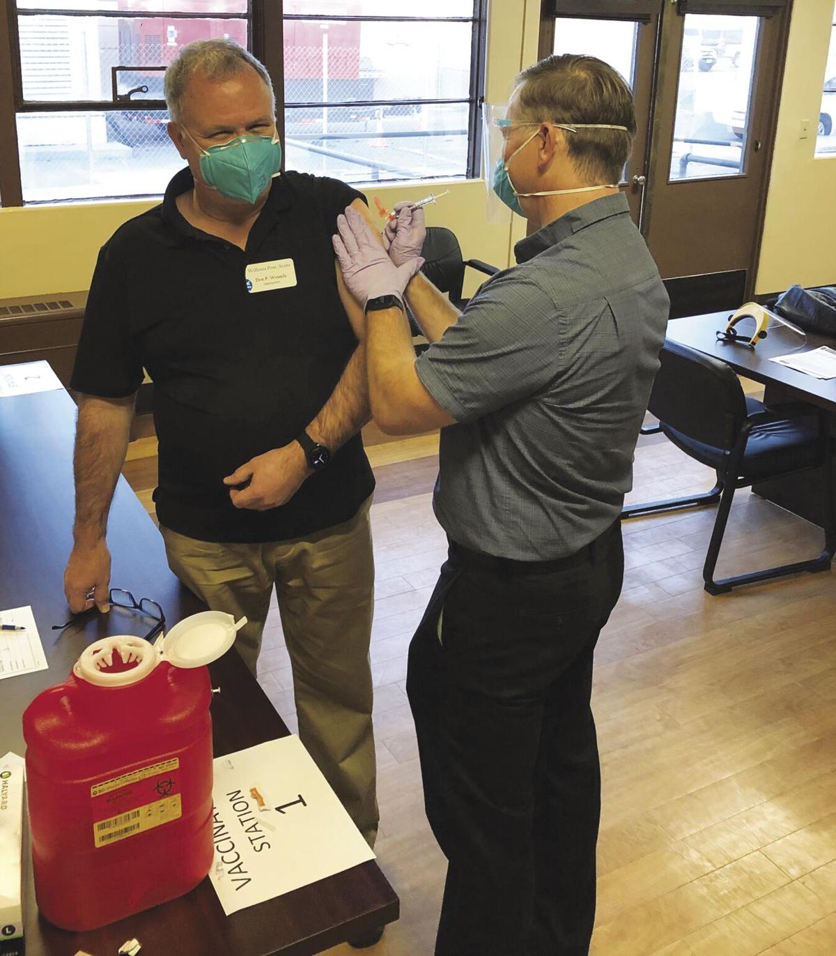 Glenn County's first COVID-19 vaccines administered