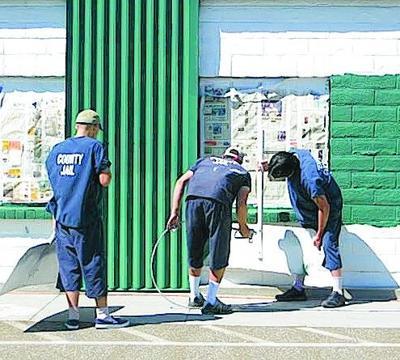 Inmates help paint county jail | News | appeal-democrat com