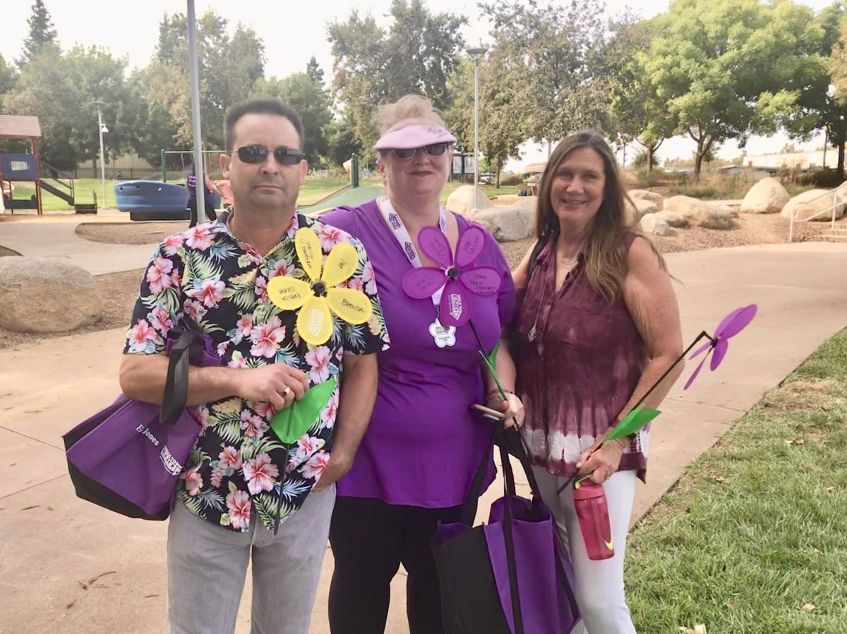 Alzheimer's Walk.