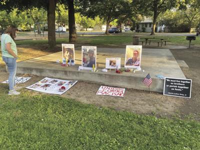 Vigil held in Colusa in response to police violence