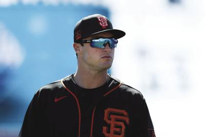 Giants' outfield prospect Hunter Bishop tests positive for COVID-19