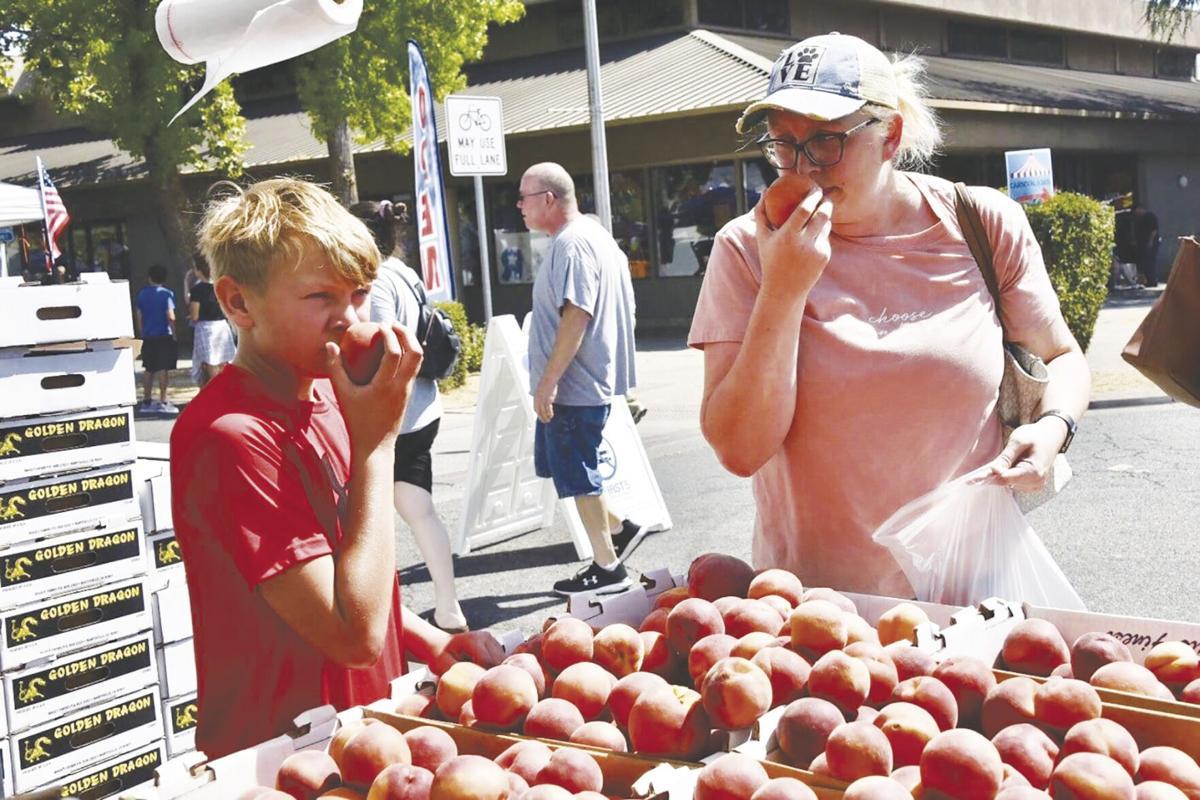 2021 Peach Festival