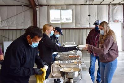 Grand Island breakfast draws smaller but generous crowd amid pandemic
