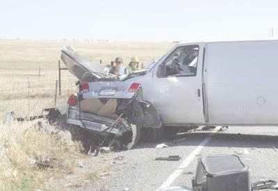 Four people killed in three separate car crashes this week