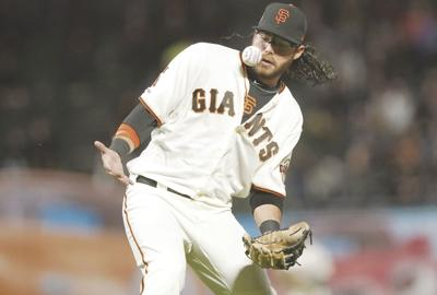 SPORTS-BBN-GIANTS-POSEY-GET
