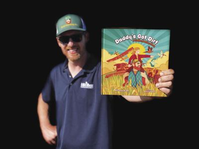 Farmer pens children's book about how rice is grown