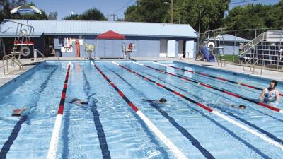 City pool open for limited use