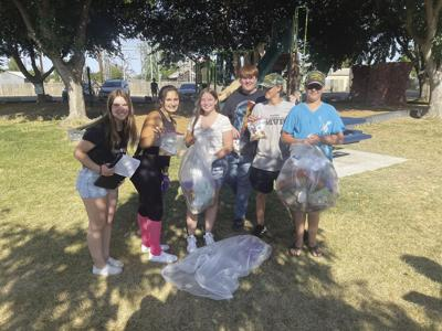 Colusa County youth group helps to clean up local parks