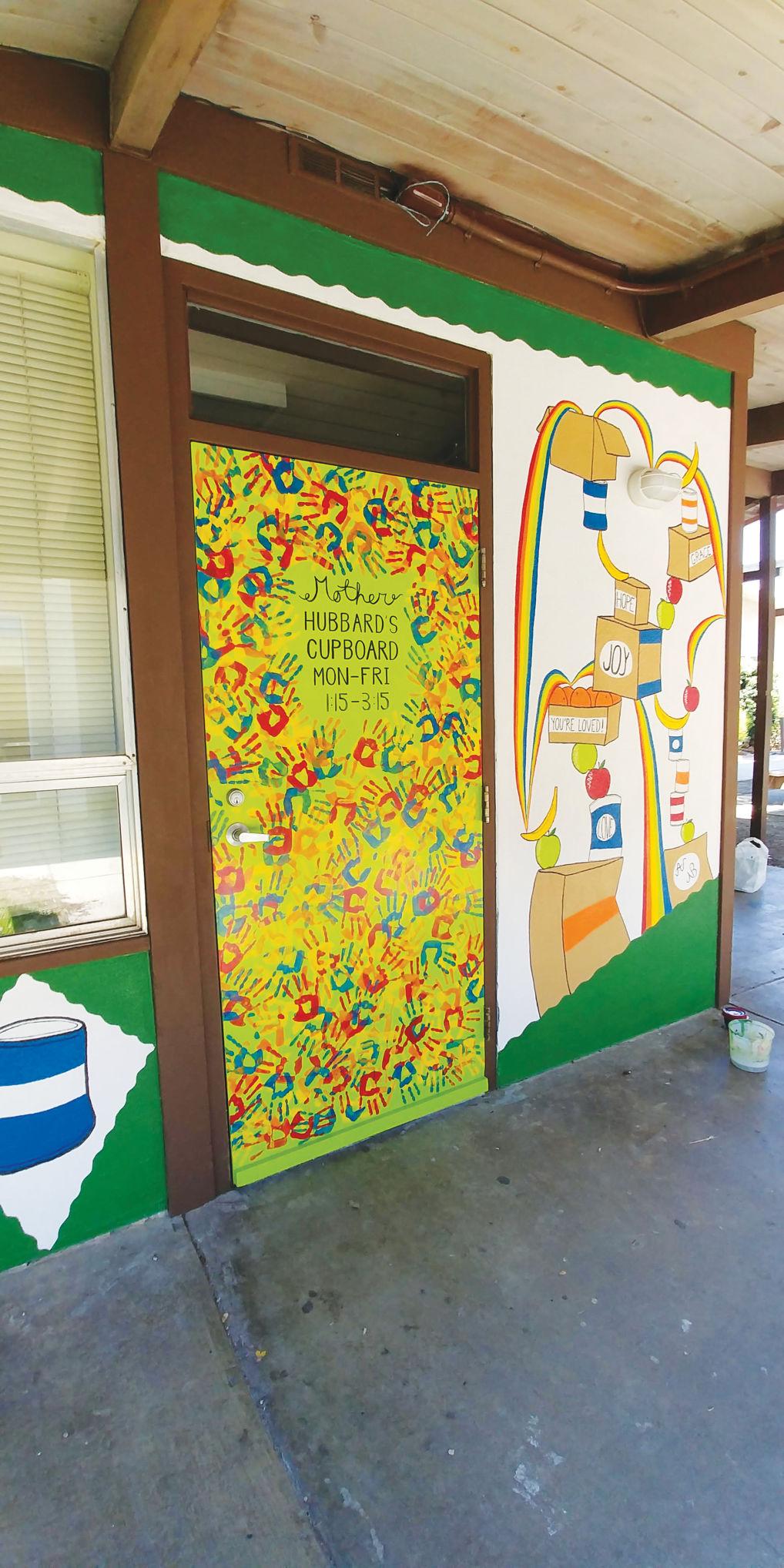 Mother Hubbard's Cupboard mural