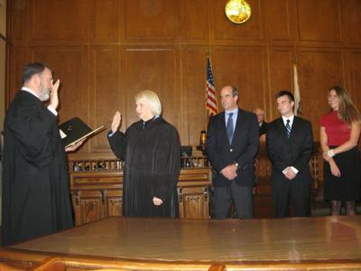 First woman Colusa County judge sworn in