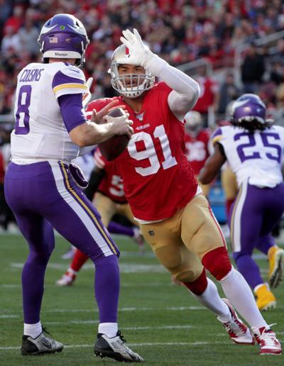 Minnesota Vikings vs San Francisco 49ers NFC divisional playoff