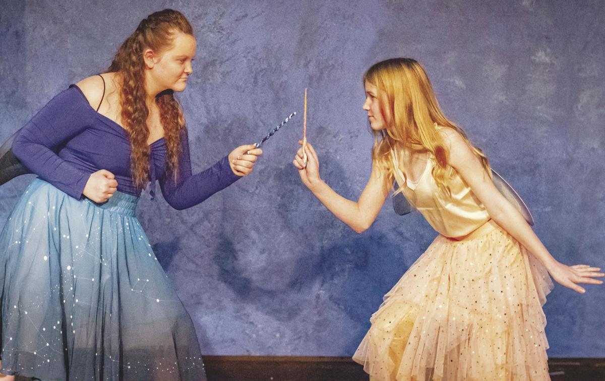 A musical fairy face-off