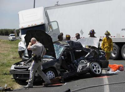 Man dies in Highway 99 crash     appeal-democrat com