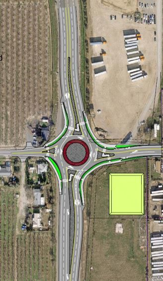 Sutter County Roundabout