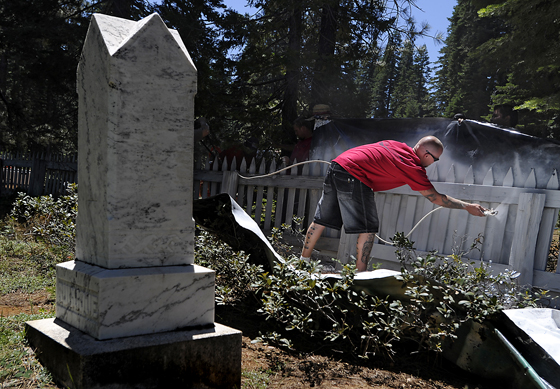La Porte Cemetery holds history, intrigue