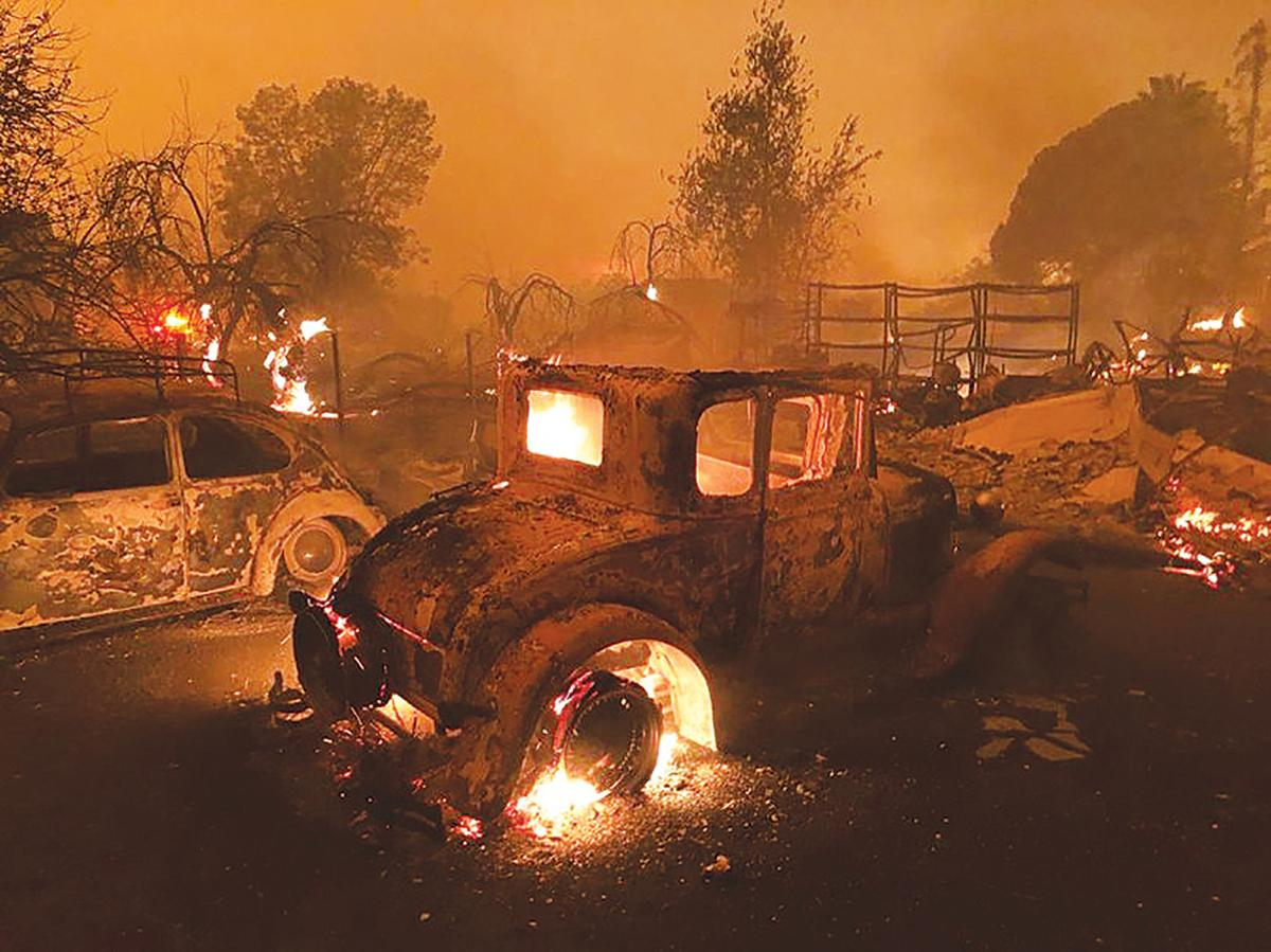 camp fire rages, rapidly spreads | news | appeal-democrat