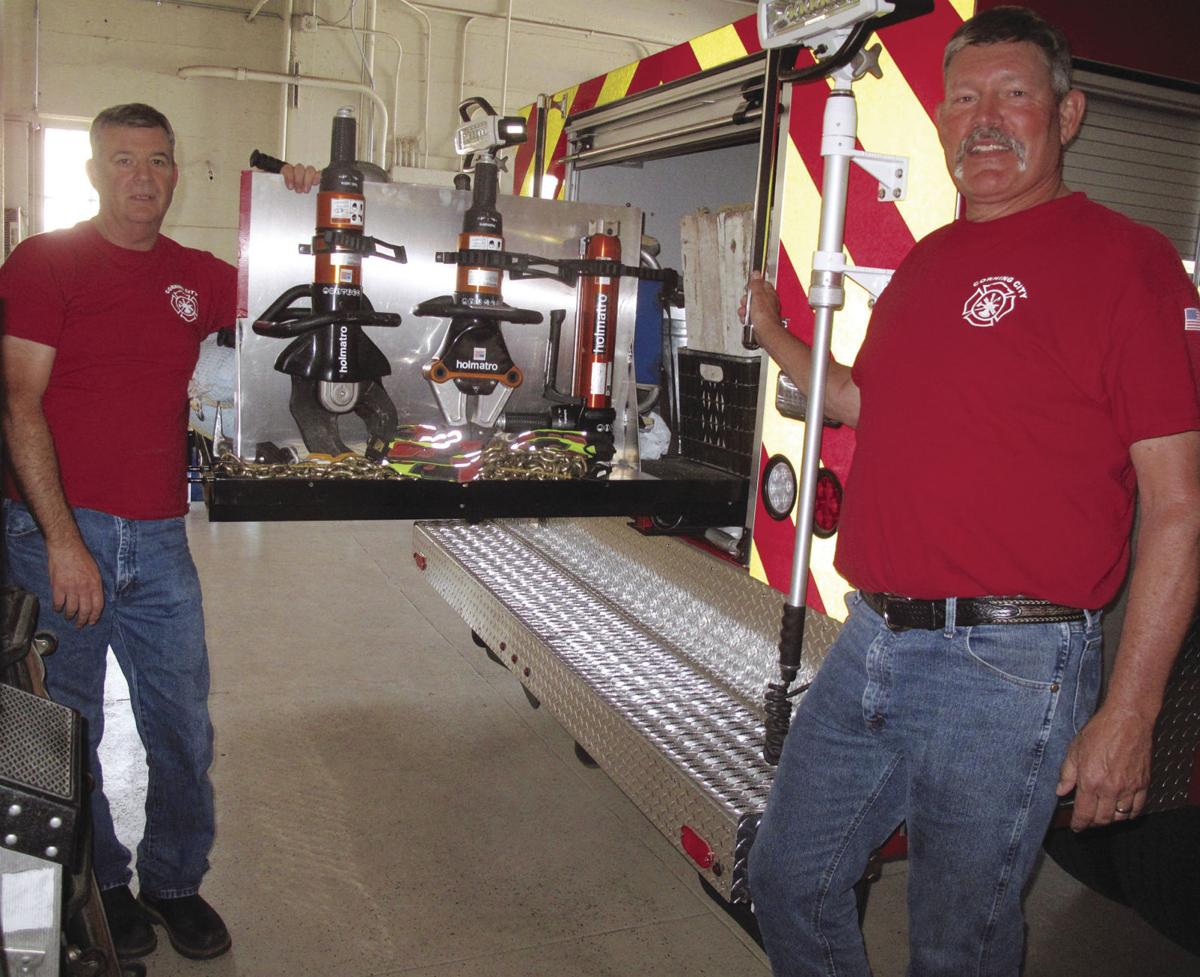 Fire department's new squad truck serving community