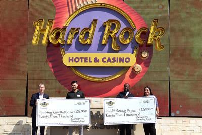 Hard Rock donation