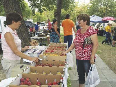 Fresh and local at the Colusa Farmers Market
