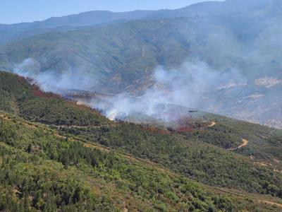 Nail Fire fully contained Monday