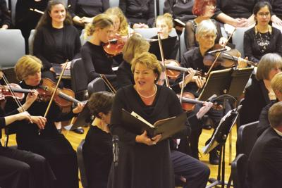Oratorio Society offering Pink October concert