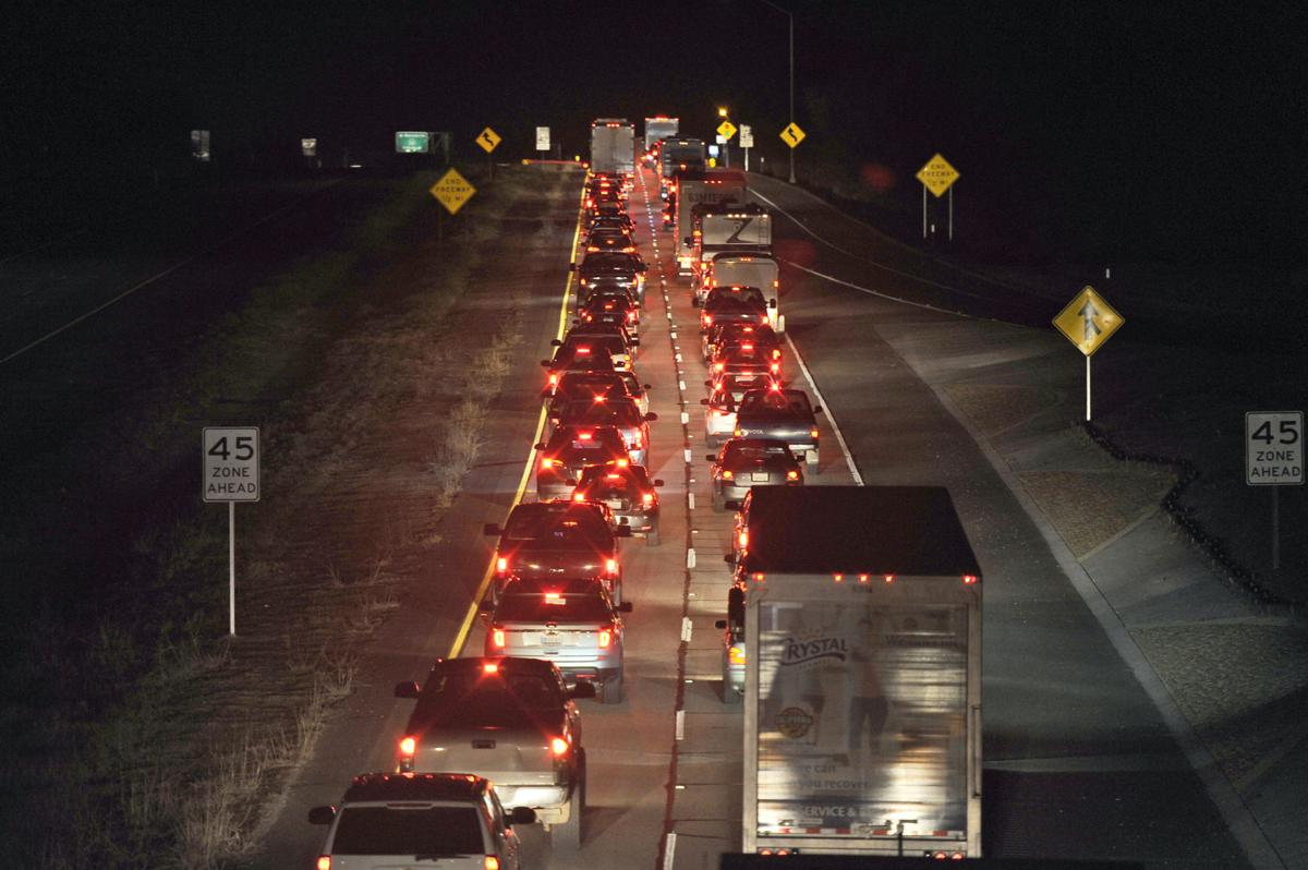 Oroville Series, Part Three: Traffic during evacuation a
