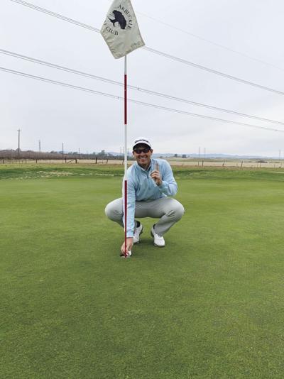 Geyer breaks course record twice