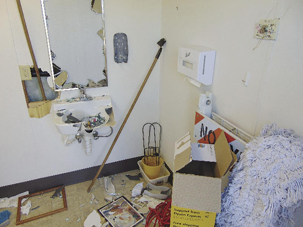 Walden Academy Vandalism