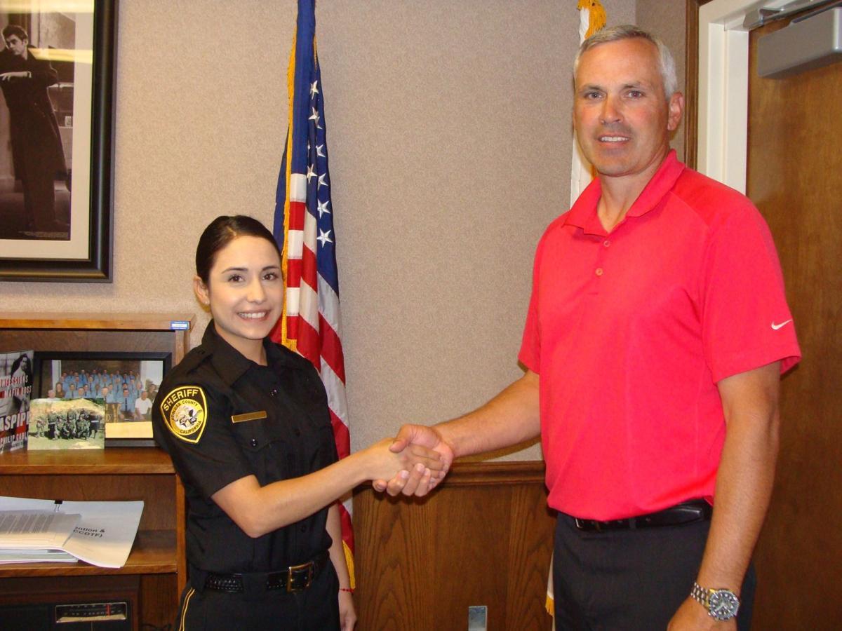Sheriff's Technician Melina Plaza