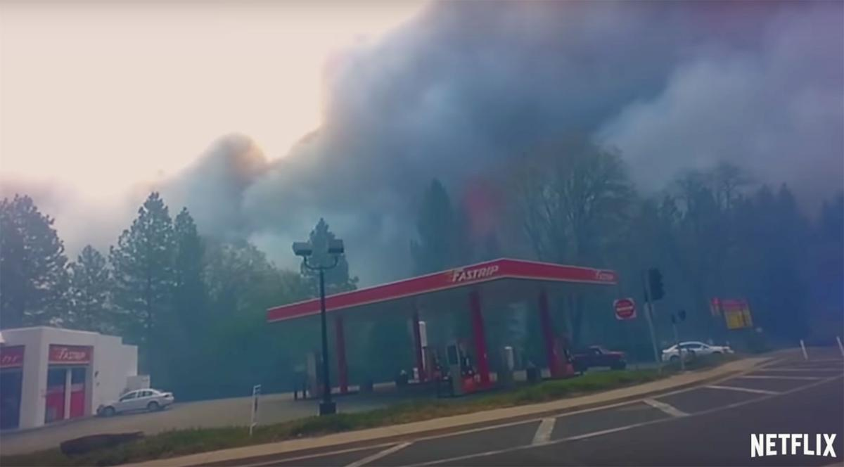 Netflix documentary on the Camp Fire