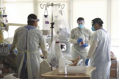 US-NEWS-CORONAVIRUS-CALIF-HEALTHWORKERS-LA