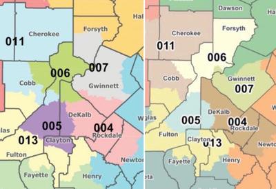 Redistricting maps 2021