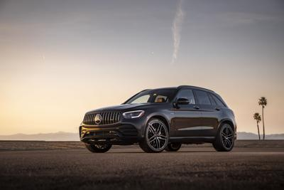 AMG GLC 43 is somewhere between sensible and silly