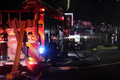 Fire at The Standard Club