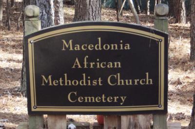 Macedonia African Cemetery