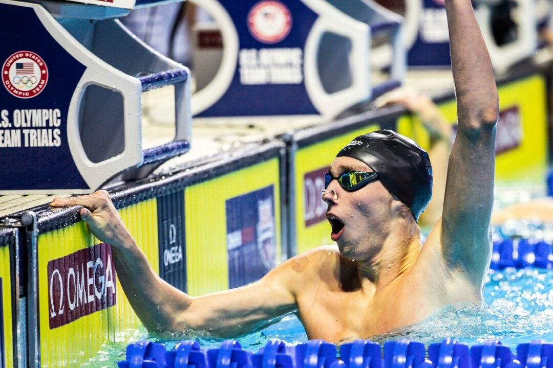 Brooks Curry qualifies for U.S. Olympic Swim Team