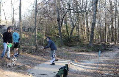 wills park disc golf