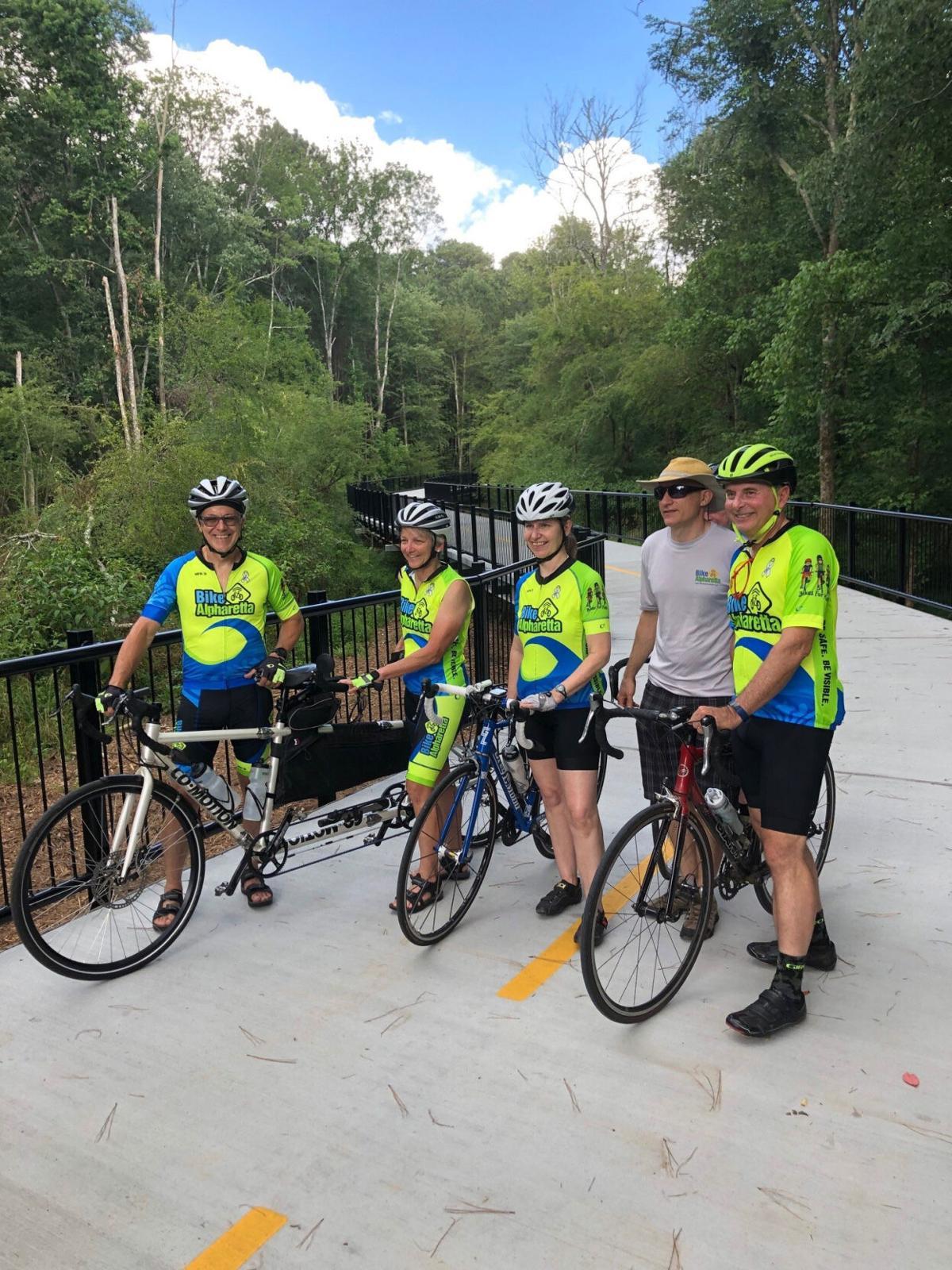 Big Creek Greenway Cyclists