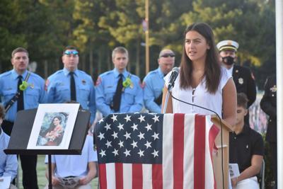 Milton High School 9/11 memorial 2021