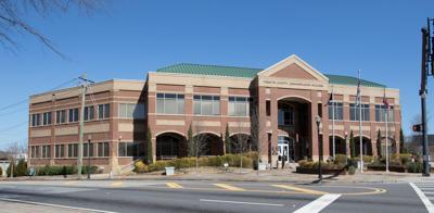 Forsyth administration building