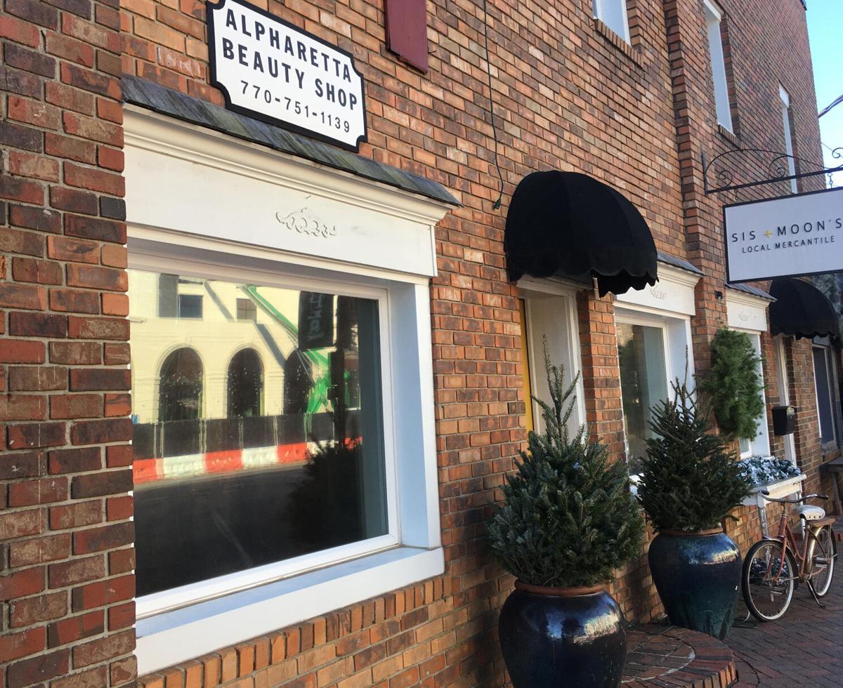 alpharetta barber shop