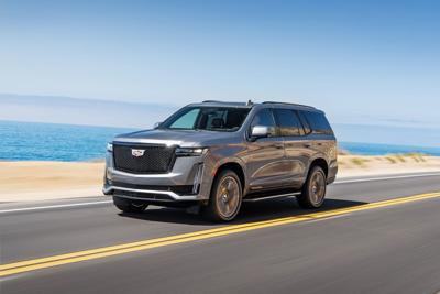 Refreshed Escalade is a prime road-tripper